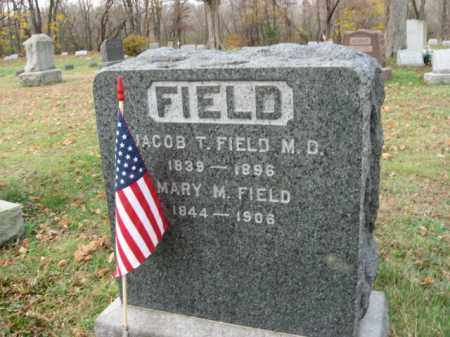 FIELD, JACOB T. - Somerset County, New Jersey | JACOB T. FIELD - New Jersey Gravestone Photos