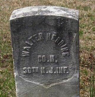 HERRING, WALTER - Somerset County, New Jersey | WALTER HERRING - New Jersey Gravestone Photos
