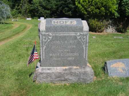 HOFF, JAMES V. - Somerset County, New Jersey | JAMES V. HOFF - New Jersey Gravestone Photos