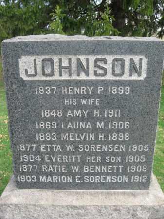 JOHNSON, HENRY P. - Somerset County, New Jersey | HENRY P. JOHNSON - New Jersey Gravestone Photos
