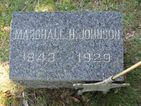 JOHNSON, MARSHALL H. - Somerset County, New Jersey | MARSHALL H. JOHNSON - New Jersey Gravestone Photos