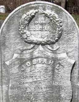 KIRKPATRICK AKA KIRK, JOSIAH L. - Somerset County, New Jersey   JOSIAH L. KIRKPATRICK AKA KIRK - New Jersey Gravestone Photos