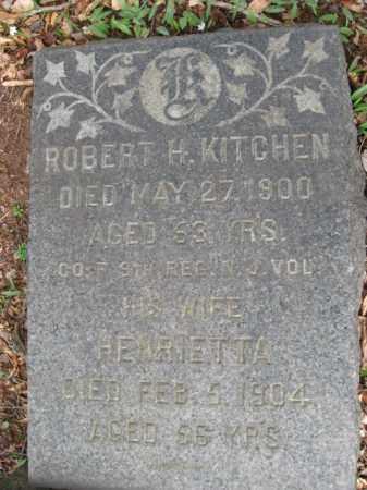 KITCHEN, ROBERT H. - Somerset County, New Jersey   ROBERT H. KITCHEN - New Jersey Gravestone Photos