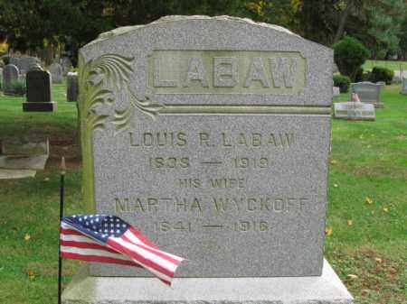 LABAW, LOUIS R. - Somerset County, New Jersey   LOUIS R. LABAW - New Jersey Gravestone Photos