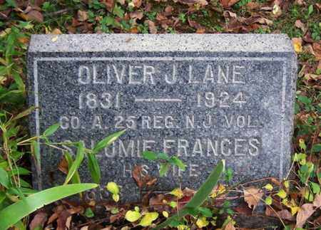 LANE, OLIVER J. - Somerset County, New Jersey | OLIVER J. LANE - New Jersey Gravestone Photos