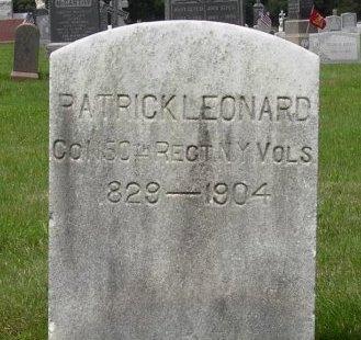 LEONARD, PATRICK - Somerset County, New Jersey | PATRICK LEONARD - New Jersey Gravestone Photos