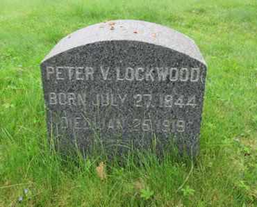 LOCKWOOD, PETER V. - Somerset County, New Jersey | PETER V. LOCKWOOD - New Jersey Gravestone Photos