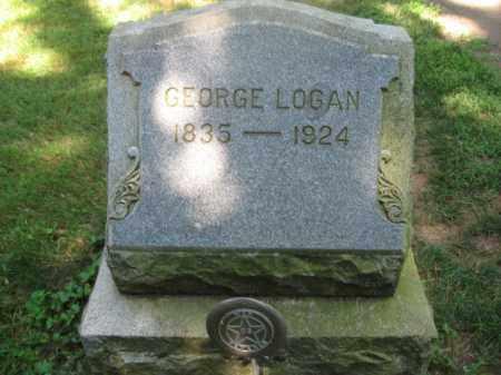 LOGAN, GEORGE - Somerset County, New Jersey | GEORGE LOGAN - New Jersey Gravestone Photos