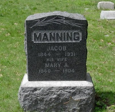 MANNING, JACOB - Somerset County, New Jersey | JACOB MANNING - New Jersey Gravestone Photos