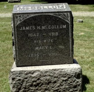 MCCOLLUM, JAMES H. - Somerset County, New Jersey | JAMES H. MCCOLLUM - New Jersey Gravestone Photos