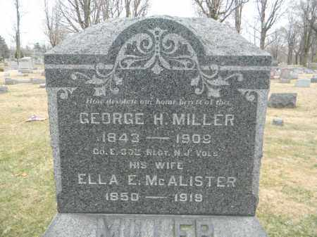 MILLER, GEORGE H. - Somerset County, New Jersey | GEORGE H. MILLER - New Jersey Gravestone Photos