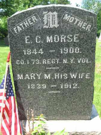 MORSE, E.C. - Somerset County, New Jersey | E.C. MORSE - New Jersey Gravestone Photos