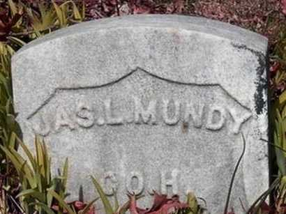 MUNDY, JAMES L. - Somerset County, New Jersey   JAMES L. MUNDY - New Jersey Gravestone Photos
