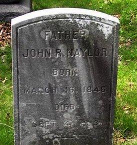NAYLOR, JOHN R. - Somerset County, New Jersey   JOHN R. NAYLOR - New Jersey Gravestone Photos