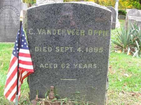 OPPIE, CORNELIUS VANDERVEER - Somerset County, New Jersey | CORNELIUS VANDERVEER OPPIE - New Jersey Gravestone Photos