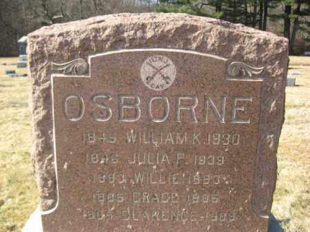 OSBORNE (OSBORN), WILLIAM K. - Somerset County, New Jersey | WILLIAM K. OSBORNE (OSBORN) - New Jersey Gravestone Photos