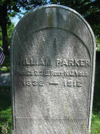 PARKER, WILLIAM - Somerset County, New Jersey | WILLIAM PARKER - New Jersey Gravestone Photos