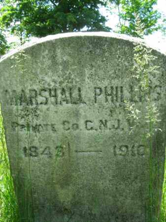 PHILLIPS, MARSHALL - Somerset County, New Jersey | MARSHALL PHILLIPS - New Jersey Gravestone Photos
