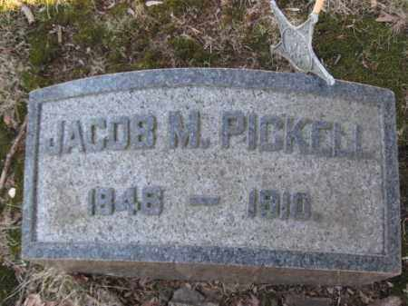PICKEL (PICKLE), JACOB M. - Somerset County, New Jersey | JACOB M. PICKEL (PICKLE) - New Jersey Gravestone Photos