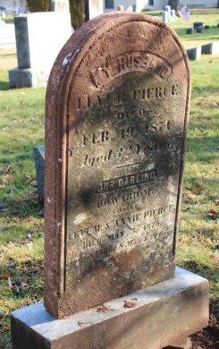 PIERCE, LEVI M. - Somerset County, New Jersey | LEVI M. PIERCE - New Jersey Gravestone Photos