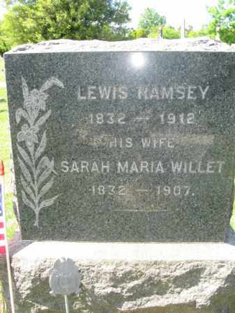 RAMSEY, LEWIS - Somerset County, New Jersey | LEWIS RAMSEY - New Jersey Gravestone Photos