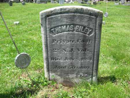 RILEY, PVT.THOMAS - Somerset County, New Jersey | PVT.THOMAS RILEY - New Jersey Gravestone Photos