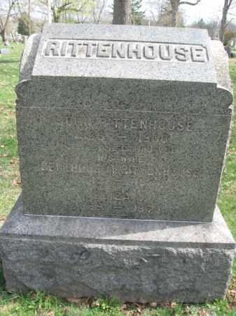 RITTENHOUSE, JOHN - Somerset County, New Jersey | JOHN RITTENHOUSE - New Jersey Gravestone Photos