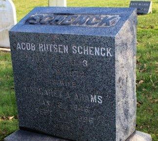 SCHENCK, JACOB RUSTEN - Somerset County, New Jersey   JACOB RUSTEN SCHENCK - New Jersey Gravestone Photos