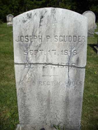 SCUDDER, JOSEPH P. - Somerset County, New Jersey   JOSEPH P. SCUDDER - New Jersey Gravestone Photos