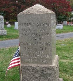SHANN, PETER V. - Somerset County, New Jersey | PETER V. SHANN - New Jersey Gravestone Photos