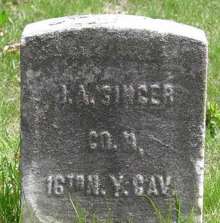 SINGER, JOHN ADOLPH - Somerset County, New Jersey | JOHN ADOLPH SINGER - New Jersey Gravestone Photos