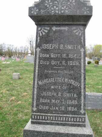 SMITH, JOSEPH B. - Somerset County, New Jersey | JOSEPH B. SMITH - New Jersey Gravestone Photos