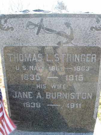 STRINGER, THOMAS L. - Somerset County, New Jersey | THOMAS L. STRINGER - New Jersey Gravestone Photos