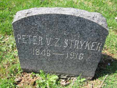 STRYKER, PETER V Z - Somerset County, New Jersey | PETER V Z STRYKER - New Jersey Gravestone Photos