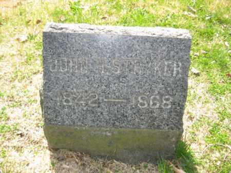 STRYKER, JOHN H. - Somerset County, New Jersey   JOHN H. STRYKER - New Jersey Gravestone Photos