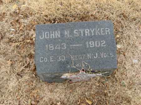 STRYKER, JOHN N. - Somerset County, New Jersey | JOHN N. STRYKER - New Jersey Gravestone Photos