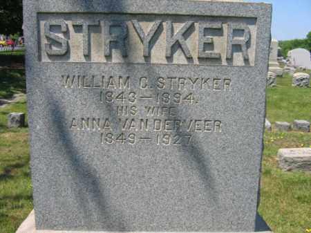 STRYKER, WILLIAM C. - Somerset County, New Jersey   WILLIAM C. STRYKER - New Jersey Gravestone Photos