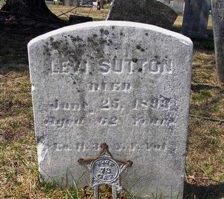 SUTTON, LEVI - Somerset County, New Jersey | LEVI SUTTON - New Jersey Gravestone Photos