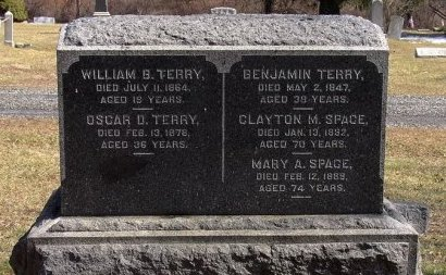 TERRY, WILLIAM B. - Somerset County, New Jersey | WILLIAM B. TERRY - New Jersey Gravestone Photos