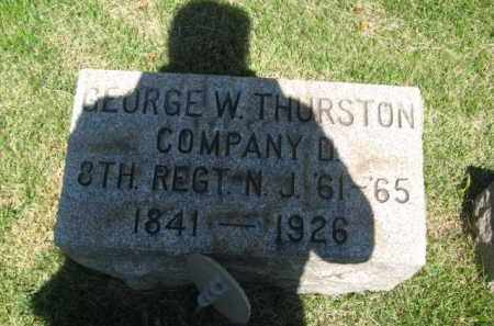 THURSTON, GEORGE W. - Somerset County, New Jersey | GEORGE W. THURSTON - New Jersey Gravestone Photos