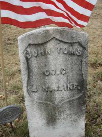 TOMS, JOHN - Somerset County, New Jersey | JOHN TOMS - New Jersey Gravestone Photos