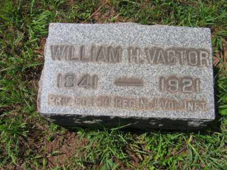 VACTOR, PVT.WILLIAM H. - Somerset County, New Jersey | PVT.WILLIAM H. VACTOR - New Jersey Gravestone Photos