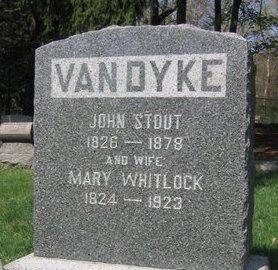 VAN DYKE, JOHN STOUT - Somerset County, New Jersey   JOHN STOUT VAN DYKE - New Jersey Gravestone Photos