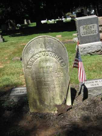 VOORHEES, ABRAM - Somerset County, New Jersey | ABRAM VOORHEES - New Jersey Gravestone Photos