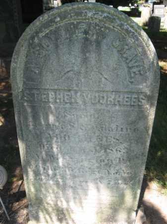 VOORHEES, PVT.STEPHEN - Somerset County, New Jersey | PVT.STEPHEN VOORHEES - New Jersey Gravestone Photos
