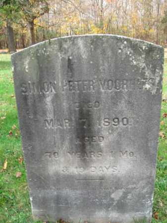 VOORHEES, SIMON PETER - Somerset County, New Jersey | SIMON PETER VOORHEES - New Jersey Gravestone Photos