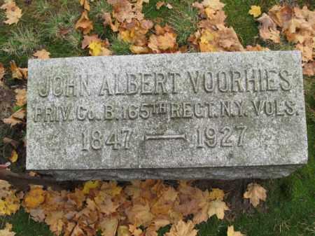 VOORHIES, JOHN ALBERT - Somerset County, New Jersey   JOHN ALBERT VOORHIES - New Jersey Gravestone Photos