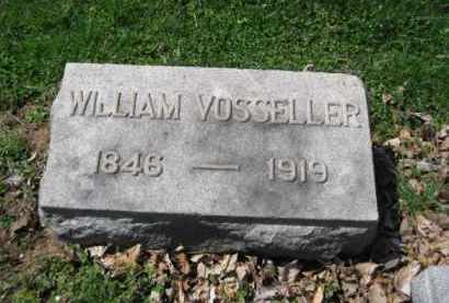 VOSSELLER, WILLIAM - Somerset County, New Jersey | WILLIAM VOSSELLER - New Jersey Gravestone Photos