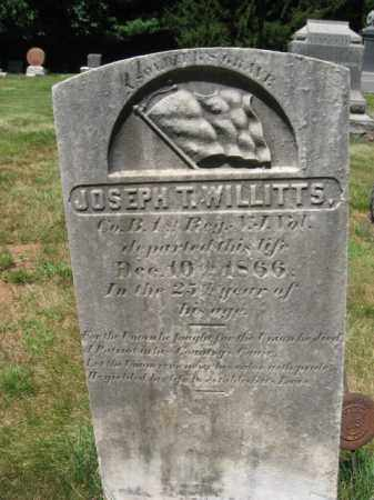 WILLITTS, JOSEPH T. - Somerset County, New Jersey   JOSEPH T. WILLITTS - New Jersey Gravestone Photos