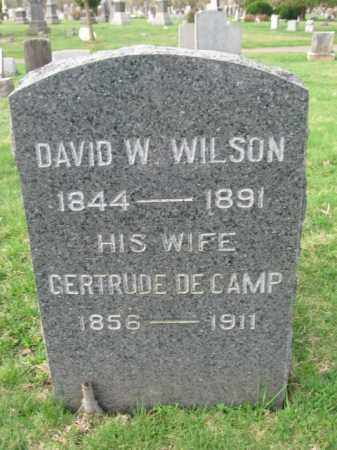 WILSON, DAVID W. - Somerset County, New Jersey | DAVID W. WILSON - New Jersey Gravestone Photos